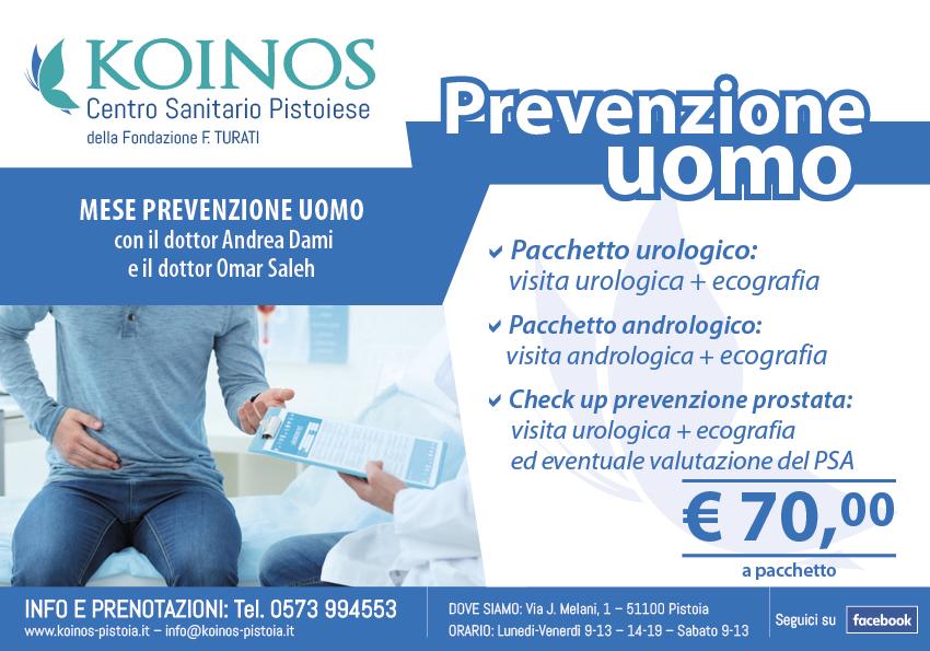 prevenzione uomo