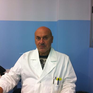 Renato La Chimia è fisiatra a Pistoia